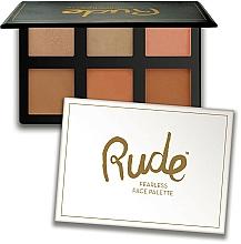 Profumi e cosmetici Palette per contouring - Rude Fearless Face Palette