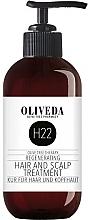 Profumi e cosmetici Lozione rigenerante per capelli e cuoio capelluto - Oliveda H22 Hair and Scalp Treatment