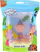 """Profumi e cosmetici Asciugamano da bagno per bambini """"Ben e Holly"""", blu-rosso - Suavipiel Ben & Holly Bath Sponge"""