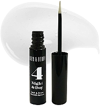 Profumi e cosmetici Siero per ciglia e sopracciglia - Lord & Berry 4 Night and Day Lash & Brow Growth Serum