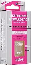 Profumi e cosmetici Smalto indurente e rinforzante per unghie - Ados Nail Hardemer Diamond XL