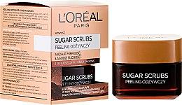 Scrub nutriente viso - L'Oreal Paris Sugar Scrubs — foto N1