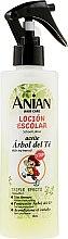 Profumi e cosmetici Lozione per capelli con olio dell'albero del tè - Anian School Lotion With Tea Tree Oil