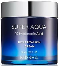 Profumi e cosmetici Crema viso idratante - Missha Super Aqua Ultra Hyalron Cream