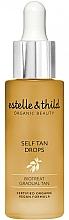 Profumi e cosmetici Autoabbronzante - Estelle & Thild BioTreat Self Tan Drops