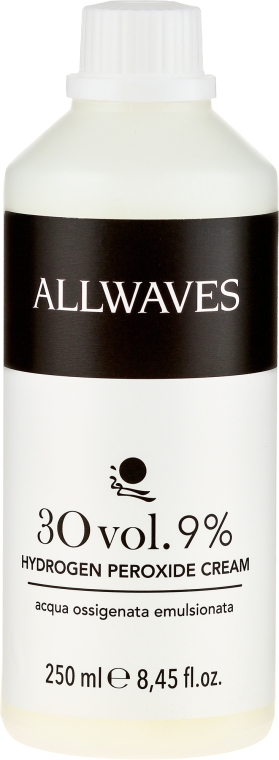 Crema ossidante - Allwaves Cream Hydrogen Peroxide 9%