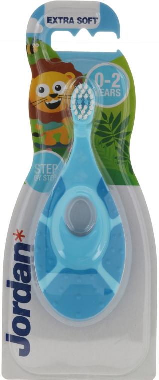 Spazzolino da denti, per bambini Step By Step, 0-2 anni, blu - Jordan Step By Step Extra Soft