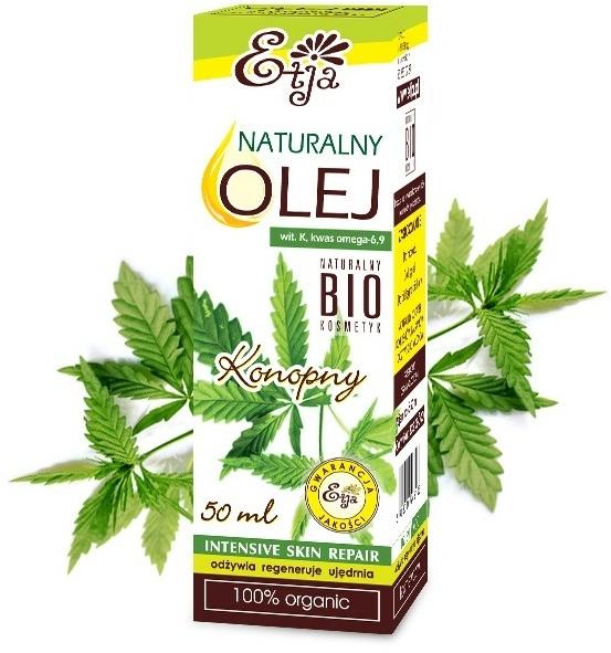 Olio naturale di semi di canapa - Etja Natural Oil