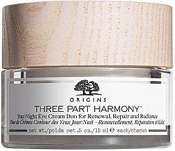 Profumi e cosmetici Crema contorno occhi da giorno e notte - Origins Three Part Harmony Day and Night Eye Cream Duo