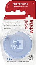 Profumi e cosmetici Filo interdentale - Edel+White Expanding Floss
