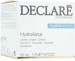 Profumi e cosmetici Crema idratante alla vitamina E - Declare Hydroforce Cream