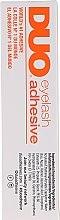 Profumi e cosmetici Adesivo per ciglia, nero - M.A.C Duo Brush On Striplash Adhesive Dark