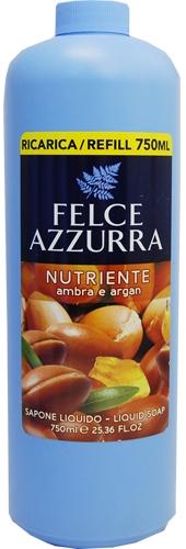 Sapone liquido - Felce Azzurra Nutriente Amber & Argan ( unità sostituibile)