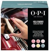 Profumi e cosmetici Set - O.P.I Gel Color Hollywood Spring 2021 Add-On Kit #1