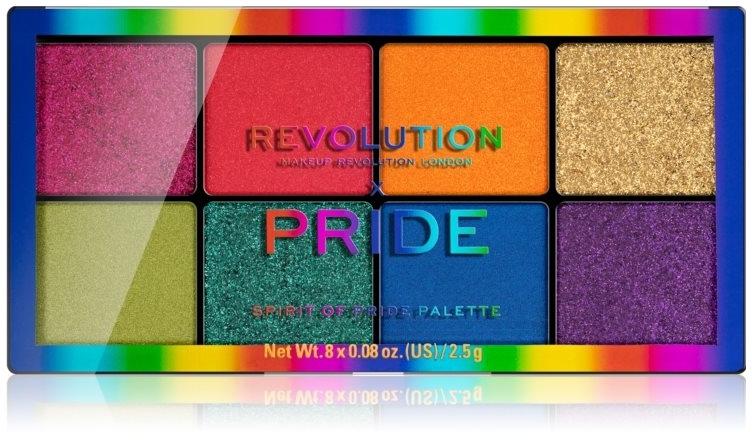 Palette di ombretti - Makeup Revolution x Pride Spirit Of Pride Shadow Palette