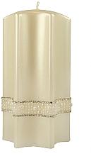 Profumi e cosmetici Candela decorativa, 9x18cm - Artman Crystal Pear Candle