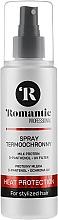 Profumi e cosmetici Spray termo-protettivo per lo styling dei capelli con proteine del latte, d-pantenolo e protezione UV - Romantic Professional Heat Protection