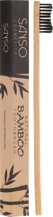 Spazzolino da denti di bambù - Sanso Cosmetics Natural Bamboo Toothbrushes