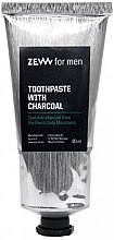 Profumi e cosmetici Dentifricio al carbone - Zew For Men Toothpaste With Charcoal