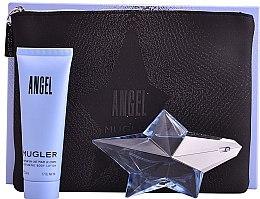Profumi e cosmetici Mugler Angel - Set (edp/25ml + b/lot/50ml + bag)