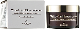 Profumi e cosmetici Crema antietà alla bava di lumaca - The Skin House Wrinkle Snail System Cream