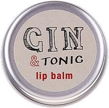 Balsamo labbra - Bath House Gin & Tonic Lip Balm Lemon & Juniper — foto N1
