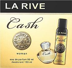 Profumi e cosmetici La Rive Cash Woman - Set (edp/90ml + deo/150ml)