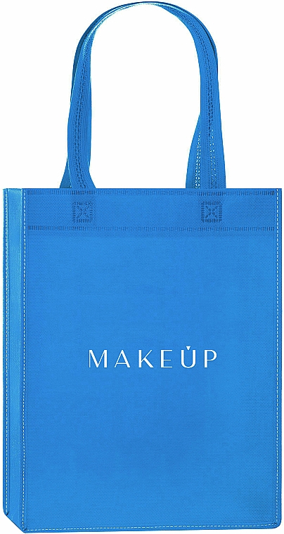 "Borsa shopper, blu ""Springfield"" - MakeUp Eco Friendly Tote Bag"