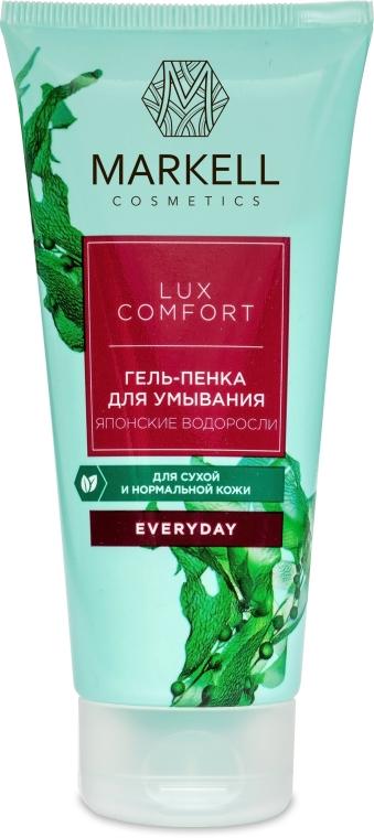 "Gel-schiuma detergente ""alghe giapponesi"" - Markell Cosmetics Lux-Comfort"