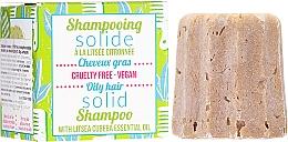 Profumi e cosmetici Shampoo solido per capelli grassi - Lamazuna Solid Shampoo For Oily Hair With Litsea Cubeba
