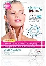 Profumi e cosmetici Maschera detergente anti-acne - Dermo Pharma Skin Repair Expert Cleansing Anti Acne Mask 4D