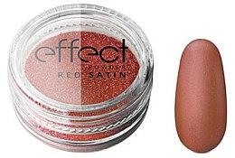 Profumi e cosmetici Polvere per unghie - Silcare Red Satine Effect Powder