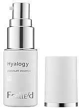 Profumi e cosmetici Siero al platino - ForLLe'd Hyalogy Platinum Essence