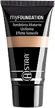 Profumi e cosmetici Fondotinta - Astra Make-Up My Foundation Natural Effect