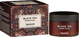 Profumi e cosmetici Maschera lenitiva per il viso - Heimish Black Tea Mask Pack