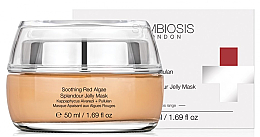Profumi e cosmetici Maschera gelatinosa lenitiva alle alghe rosse - Symbiosis London Soothing Red Algae Splendour Jelly Mask