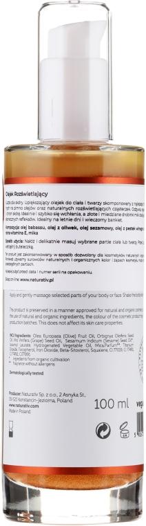 Olio corpo rigenerante - Naturativ Revitalizing Body Oil — foto N2