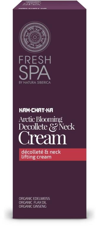 Crema lifting per collo e décolleté - Natura Siberica Fresh Spa Kam-Chat-Ka Arctic Blooming Bust & Neck Cream — foto N1