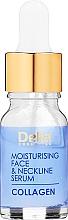 Profumi e cosmetici Trattamento intensivo idratante antirughe viso e collo - Delia Collagen Intensive Anti-Wrinkle and Moisturising Treatment Serum