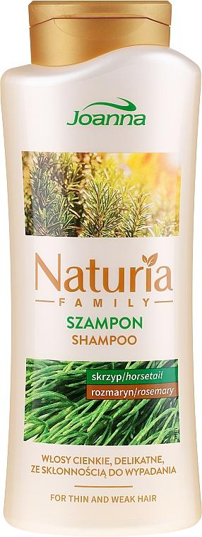 "Shampoo per capelli sottili, delicati e inclini alla caduta ""Equiseto e rosmarino"" - Joanna Naturia Shampoo With Horsetail and Rosemary"