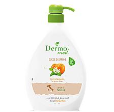 """Profumi e cosmetici Gocce di sapone """"Fiore d'arancio"""" - Dermomed Orange Blossom Cream Soap"""