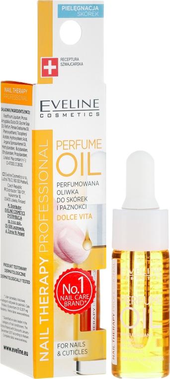 Olio aromatico per cuticole e unghie - Eveline Cosmetics Nail Therapy Professional Dolce Vita