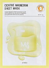 Profumi e cosmetici Maschera viso con magnesio - A'pieu Cicative Magnesium Sheet Mask