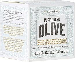 Profumi e cosmetici Crema viso idratante, da giorno - Korres Pure Greek Olive Day Cream