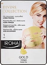 Profumi e cosmetici Maschera idratante e nutriente con effetto rassodante - Iroha Divine Collection Gold & Collagen