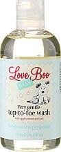 Profumi e cosmetici Gel doccia e shampoo per bambini - Love Boo Baby Very Gentle Top-To-Toe Wash