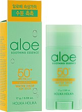 Profumi e cosmetici Crema solare in stick - Holika Holika Aloe Soothing Essence Water Drop Sun Stick SPF50+