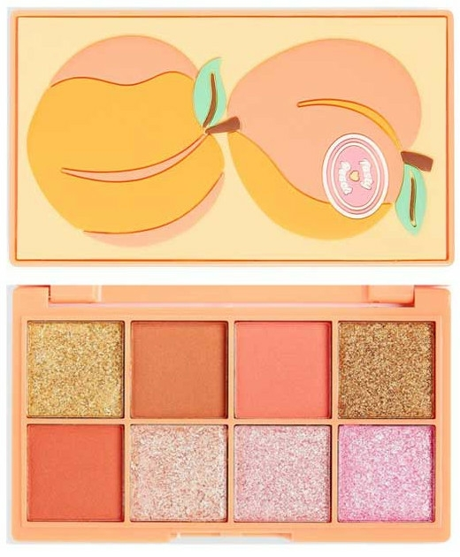 Palette ombretti - I Heart Revolution Mini Tasty Peach Eyeshadow Palette