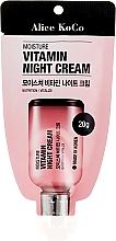 Profumi e cosmetici Crema vitaminica, da notte - Alice Koco Vitamine Night Cream