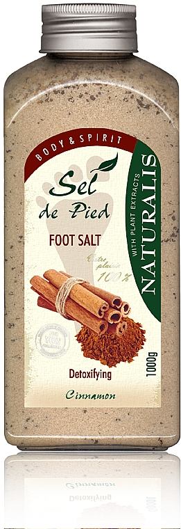 Sale per pediluvio  - Naturalis Sep de Pied Cinnamon Foot Salt